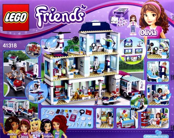 Lego Friends Szpital W Heartlake 41318 Klocki Dvdmaxpl