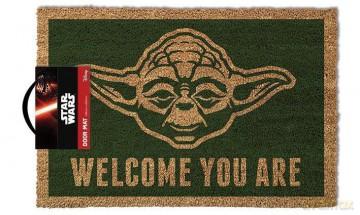 Star Wars: Yoda Welcome You Are Wycieraczka (Gwiezdne Wojny)