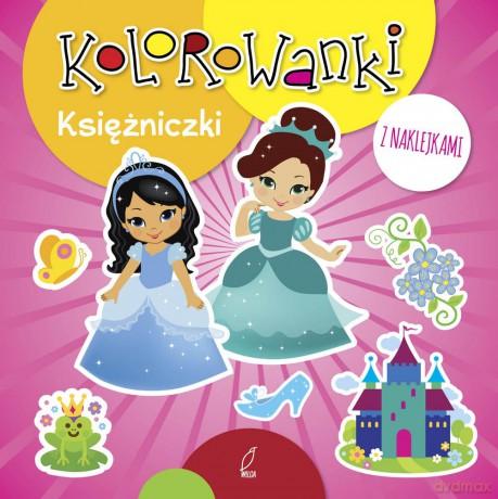Kotki I Pieski Kolorowanki Z Naklejkami 2017 Książka Autor