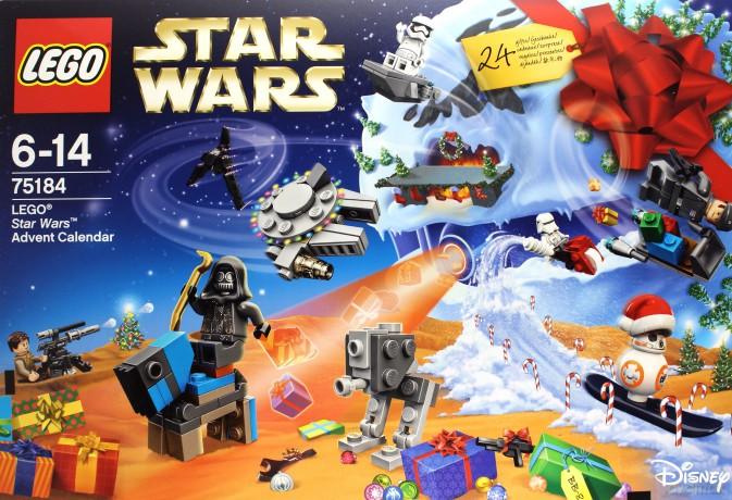 LEGO Star Wars Kalendarz adwentowy 2017 (Gwiezdne Wojny) (75184)