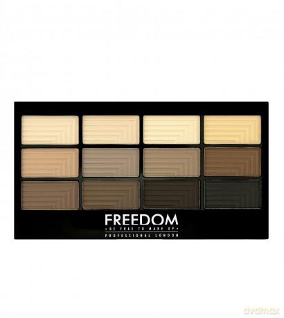 Freedom Pro 12 Audacious Mattes Paleta 12 Cieni Do Powiek