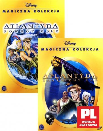 Atlantyda: Powrót Milo / Zaginiony Ląd Pakiet (Magiczna Kolekcja) (Disney)
