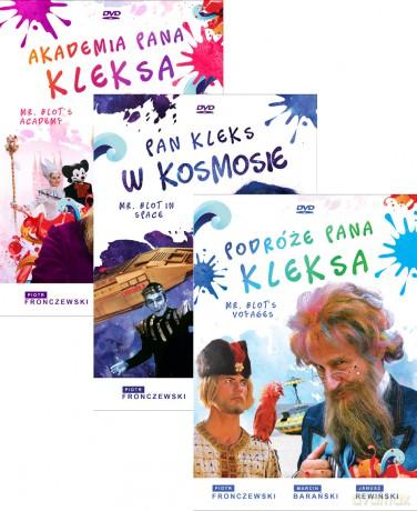 Akademia Pana Kleksa / Pan Kleks w kosmosie / Podróże Pana Kleksa (Digitally Restored) Pakiet