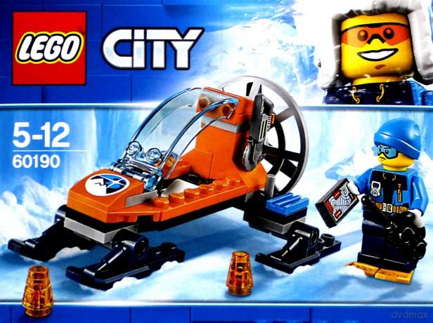 Lego City Arktyczny ślizgacz 60190 Klocki Dvdmaxpl