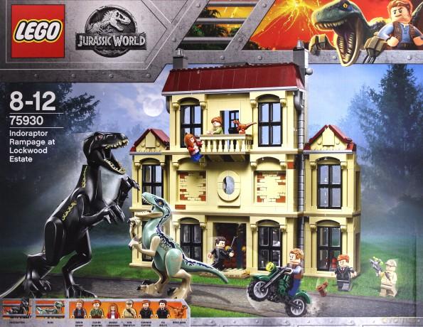 Lego Jurassic World Atak Indoraptora 75930 Klocki Dvdmaxpl
