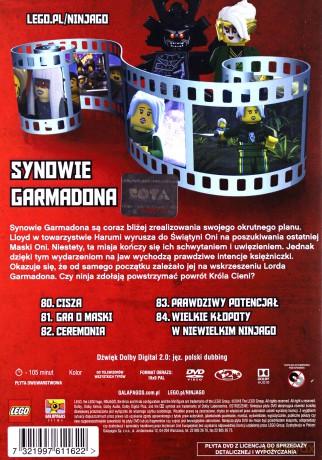 Lego Ninjago Synowie Garmadona Część 2 Odcinki 80 84 Dvd