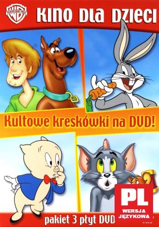 Kultowe kreskówki: Looney Tunes. Plejada gwiazd 1/ Scooby-Doo i potwór z Loch Ness / Tom i Jerry: Świąteczne przygody